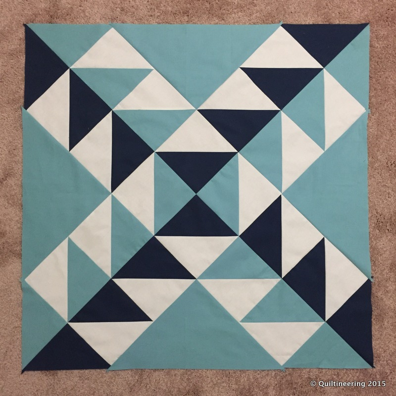 Modern building blocks blocks 2 6 quiltineering for Modern house quilt block